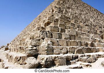 カイロ, エジプト, ピラミッド, ギザ