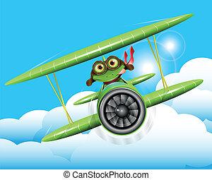 カエル, パイロット