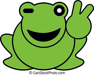 カエル, 幸せ