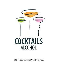 カクテル, ロゴ, アルコール中毒患者