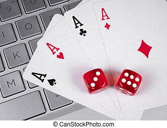 カジノ, オンラインで