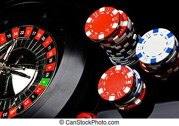 カジノ, ルーレット, ギャンブル, ゲーム