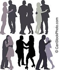 カップル, ダンス