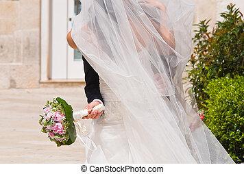 カップル。, 結婚式