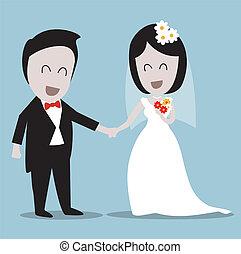 カップル, 結婚式