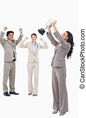 カップ, 勝利, 女性実業家