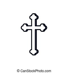 カトリック教の十字, ベクトル, キリスト教徒, シンボル, デザイン