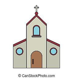 カトリック教, シンボル, 教会
