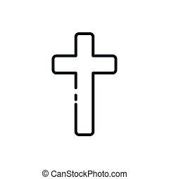 カトリック教, デザイン, シンボル, 手紙, キリスト教徒, aum, ベクトル
