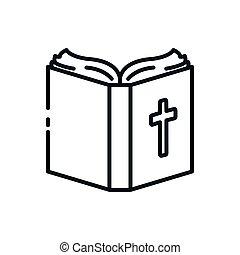カトリック教, デザイン, シンボル, 聖書, キリスト教徒, ベクトル