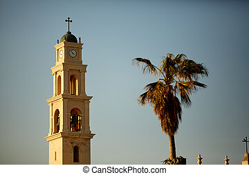 カトリック教, ピーター, jaffa, st. 。, -, 2, 教会, 光景