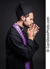 カトリック教, 司祭, 祈ること, 若い