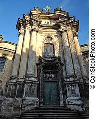 カトリック教, 大聖堂, 教会