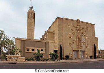 カトリック教, 教会, 中に, アルバカーキ, ニューメキシコ