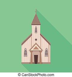 カトリック教, 霊歌, セット, stock., オブジェクト, 隔離された, シンボル。, ベクトル, 教会, アイコン