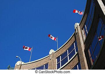 カナダの場所