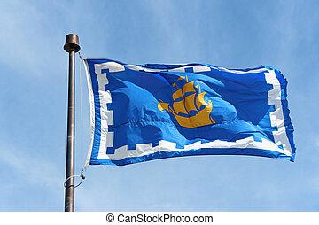 カナダの旗, ケベック 都市