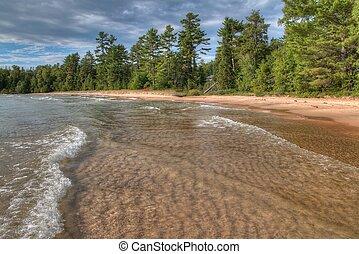 カナダ, 優秀, 北, 地方の人, オンタリオ, 公園, 湖の海岸