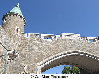 カナダ, 要塞, ケベック 都市