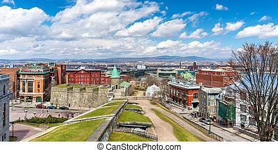 カナダ, 要塞, 古い, ケベック 都市