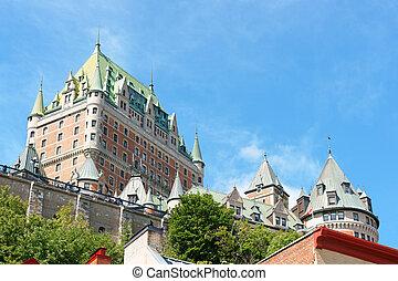 カナダ, 都市, ホテル frontenac, ケベック, 城