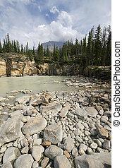 カナダ, athabasca, 落ちる