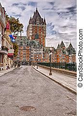 カナダ, frontenac, 城, ケベック 都市
