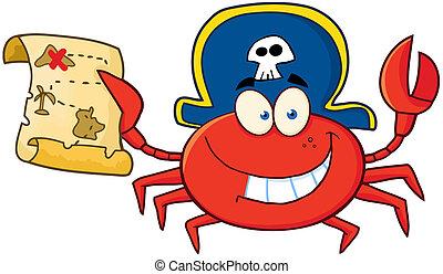 カニ, 海賊