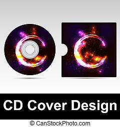 カバー, デザイン, cd