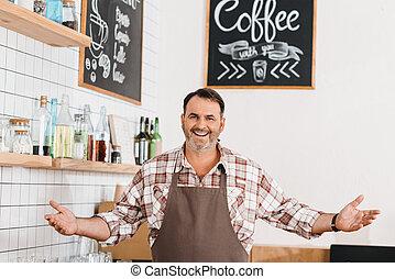 カフェ, バーテンダー, 成長した