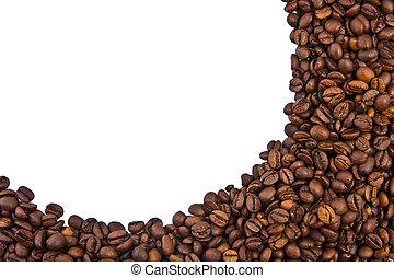 カフェ, 現場, 種, 穀粒, そして, スパイス