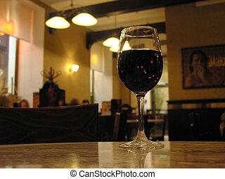 カフェ, wineglass