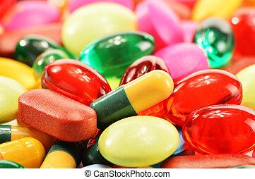 カプセル, 食事である, 薬, 構成, 補足, 丸薬