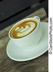 カプチーノ, 芸術, coffee., latte, ∥あるいは∥