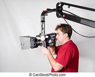 カメラマン, 仕事, クレーン