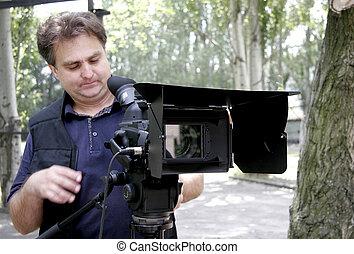 カメラマン, 仕事