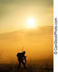 カメラマン, 山