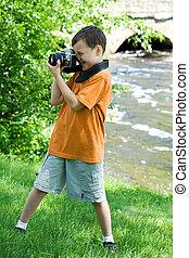 カメラマン, 若い