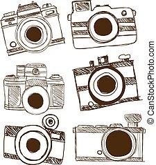 カメラ, ベクトル