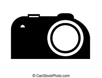カメラ, 写真撮影, ベクトル