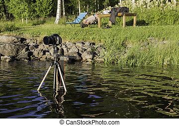 カメラ, 湖