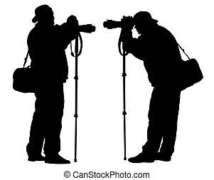カメラ, 観光客, 1(人・つ)