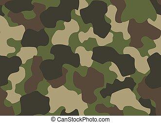 カモフラージュ, 探求, スタイル, 手ざわり, seamless, 軍, pattern., 繰り返し, ブラウン, print., バックグラウンド。, 覆うこと, 衣類, ∥あるいは∥, camo, 森林, クラシック, 抽象的, 緑, 黒いオリーブ, 色
