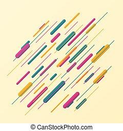 カラフルである, パターン, 抽象的, バックグラウンド。, ストライプ, 線