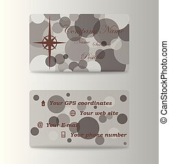 カラフルである, ビジネス, デザイン, テンプレート, 流行, カード
