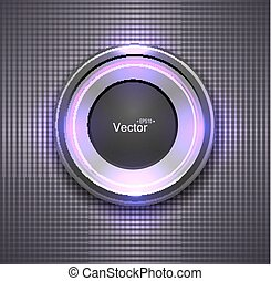カラフルである, ボタン, グロッシー, lightbulb