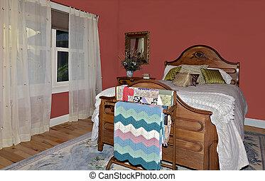 カラフルである, 寝室