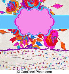 カラフルである, 抽象的, eps, flowers., 背景, 8