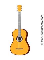 カラフルである, 漫画, アコースティックギター