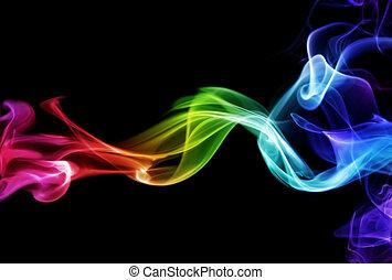 カラフルである, 煙